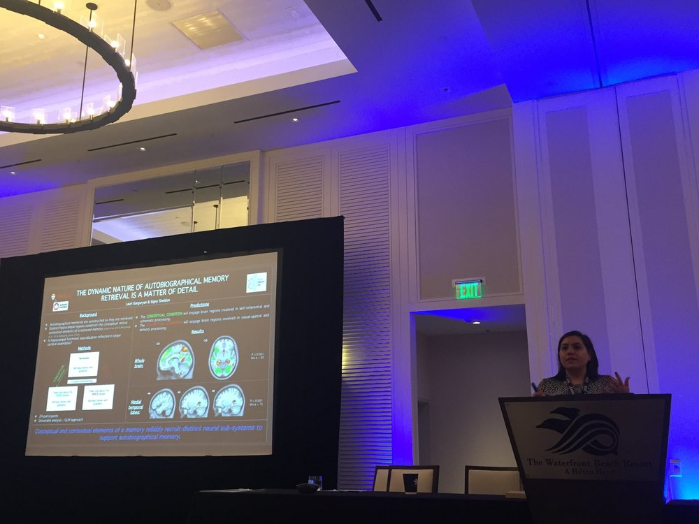 PhD candidate Lauri Gurguryan's lightning talk at the 2018 International Conference on Learning and Memory in California.