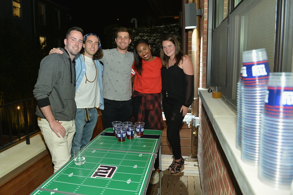 Guests at the Booking.com Football House (4).jpg
