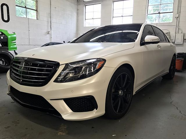 #wrappedchicago #ppf #chipguard #clearbra #paintprotection #satin #stealth #suntek #suntekppf #mercedesbenz #s63 #s63amg #amg