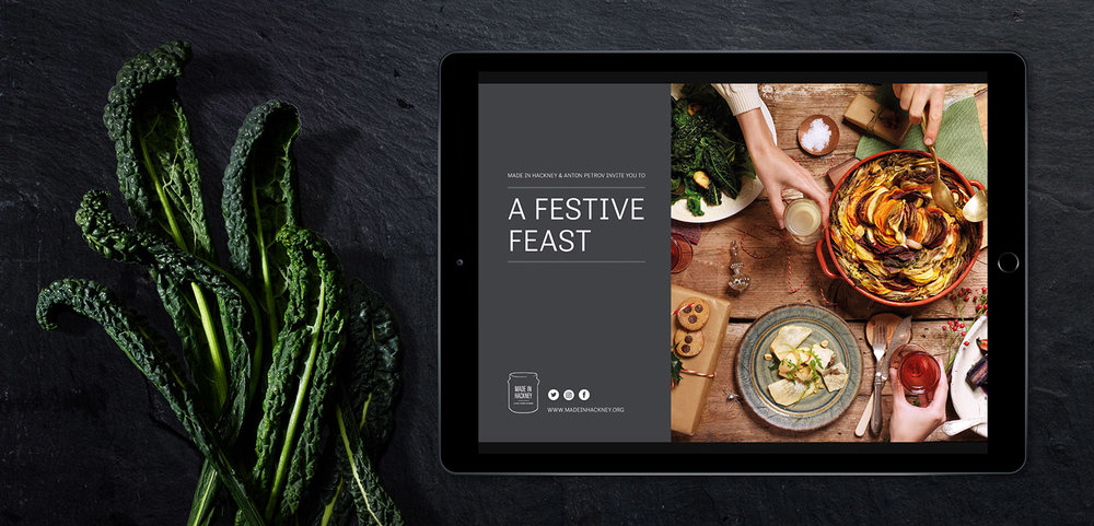 Made In Hackney Festive Recipe e-booklet