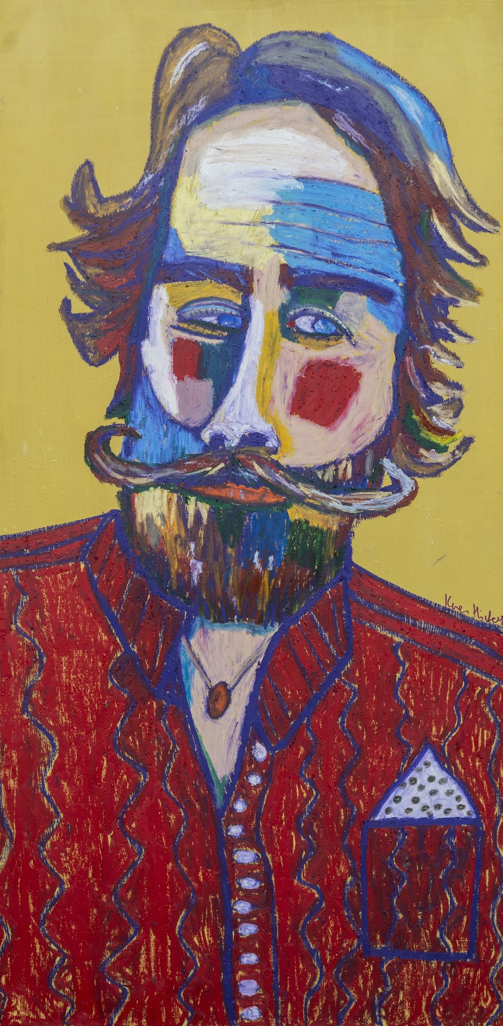 The Dude at the Picnic - SOLD