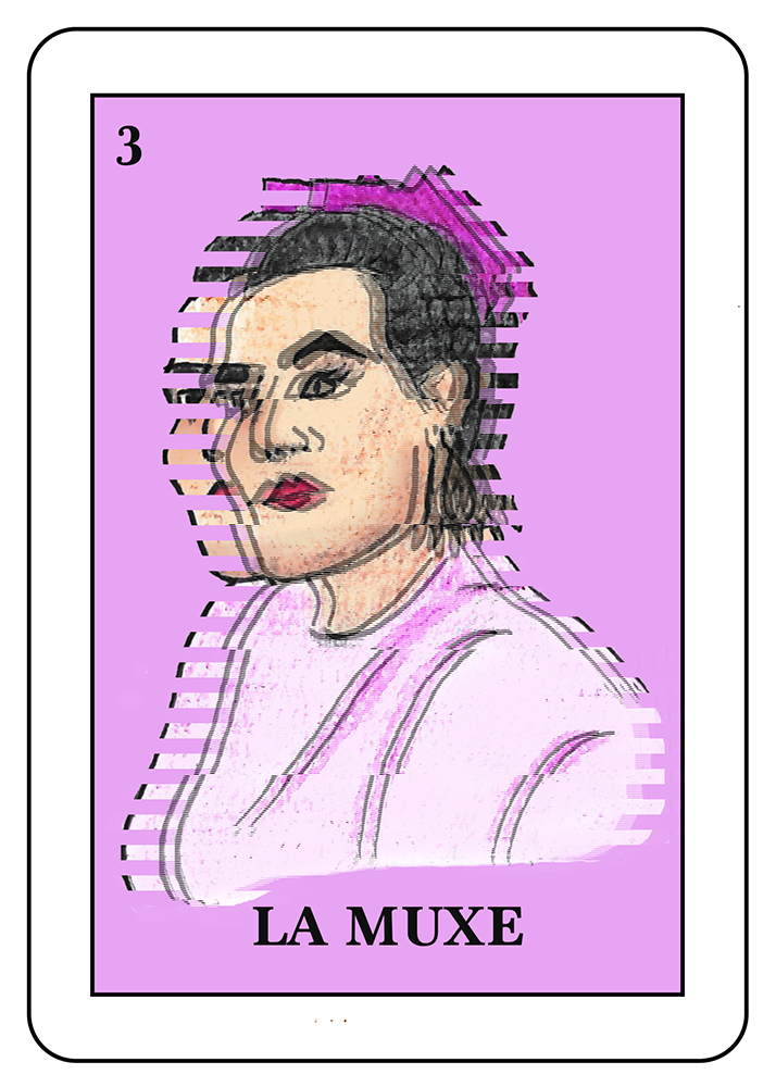 La Muxe:  In Mexico, especially Oaxaca, a Muxe is a person whose birth sex is male, but who identifies as female. They may be seen as a third gender