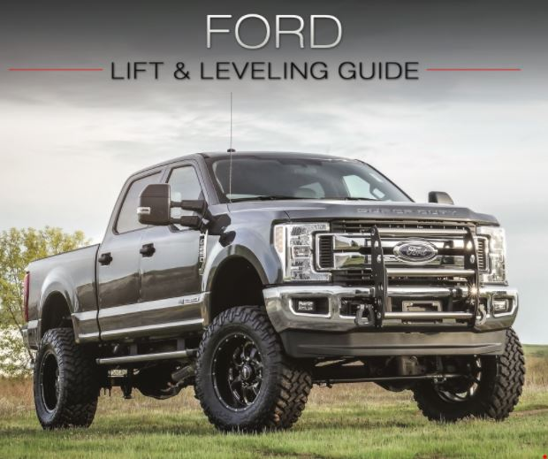 Ford Truck Lift and Leveling Kits