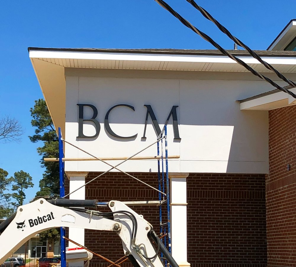 BCM Letters added on Cameron Street March 2018