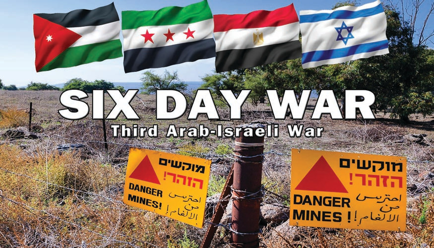 Modern Warfare: Six Day War - Third Arab-Israeli War -