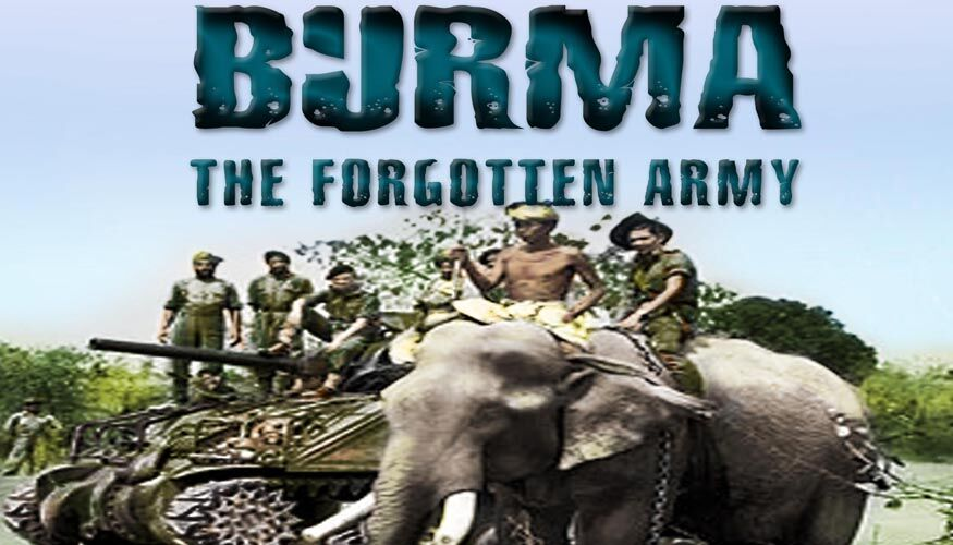 The War in Burma  -