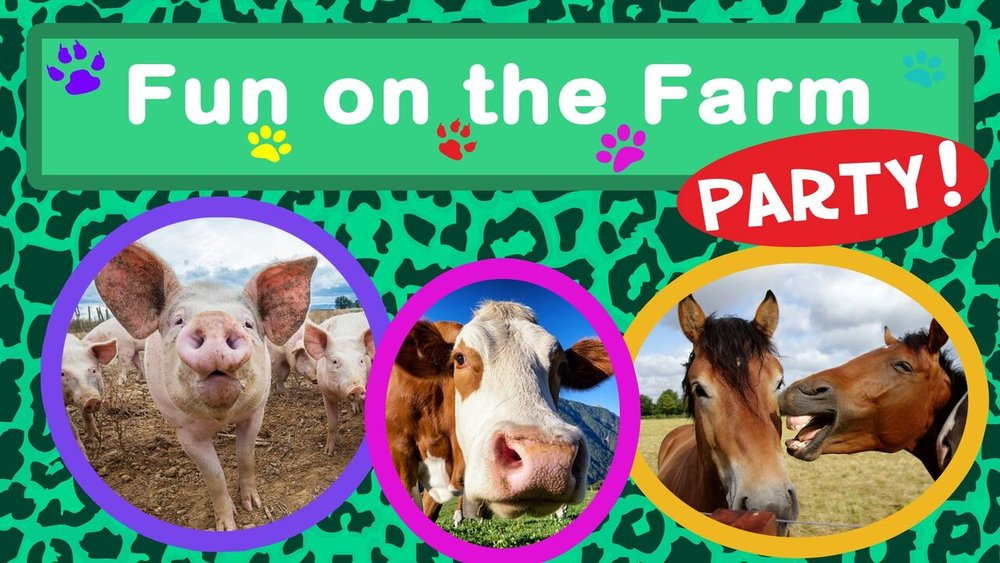 Fun On The Farm Party -