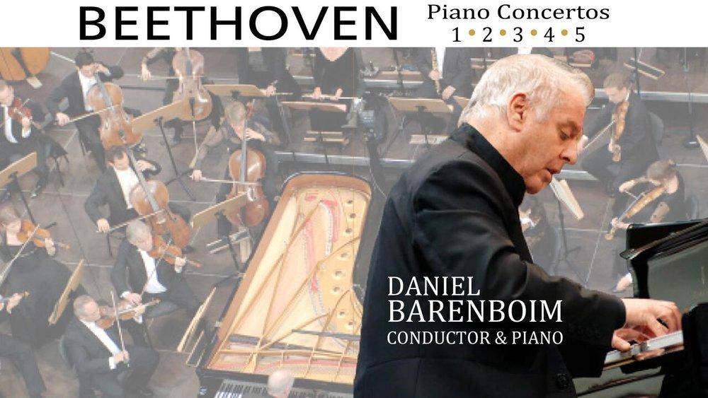 Beethoven's Piano Concerto 1-5 -