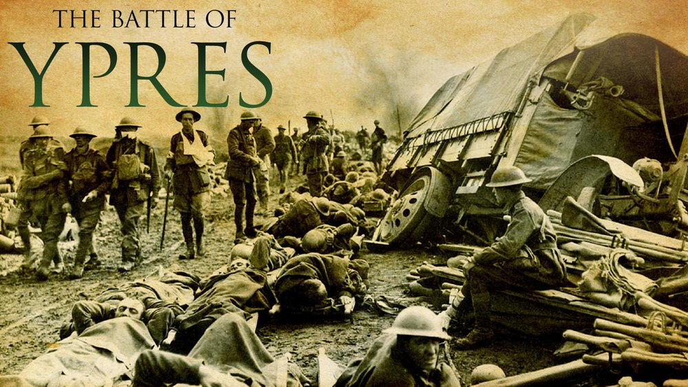 The Battle of Ypres -