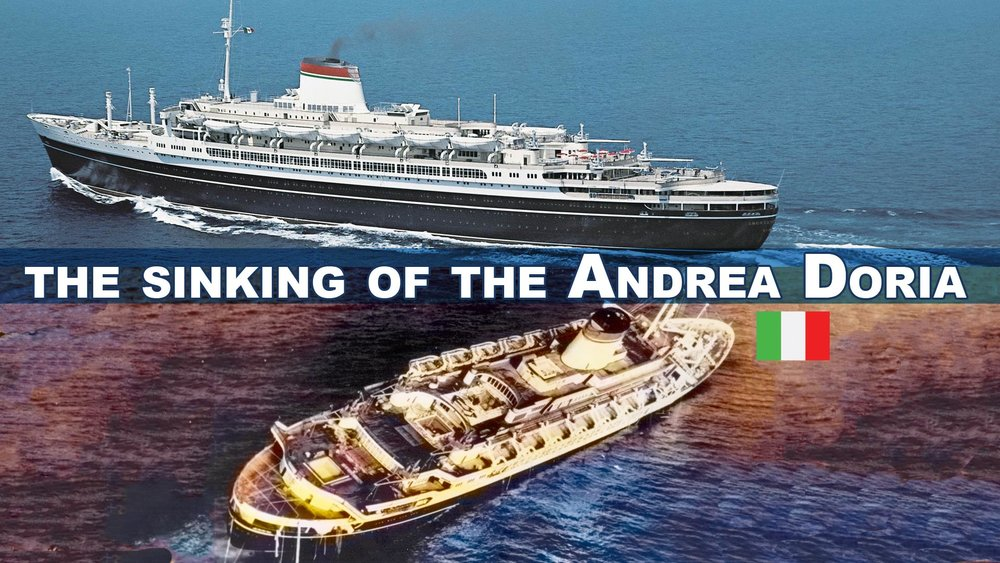 The Sinking of the Andrea Doria -