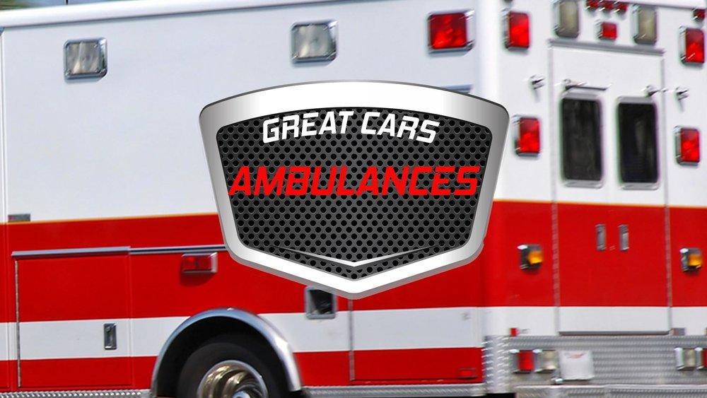 Great Cars: Ambulances -
