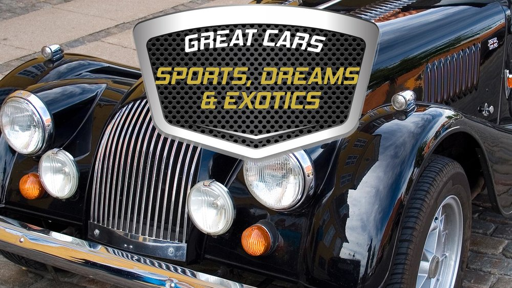 Great Cars: Sports Cars, Dream Cars and Exotics -