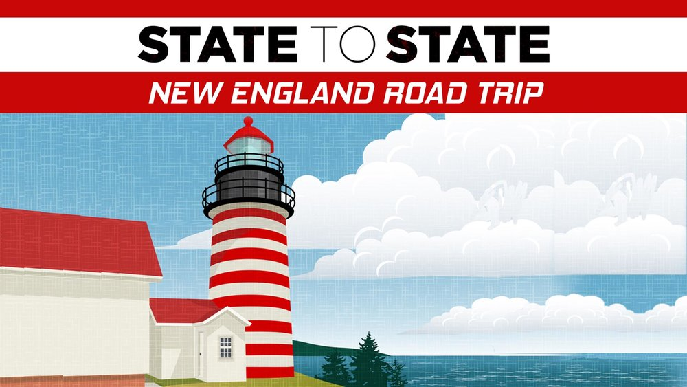 State to State: New England Road Trip -