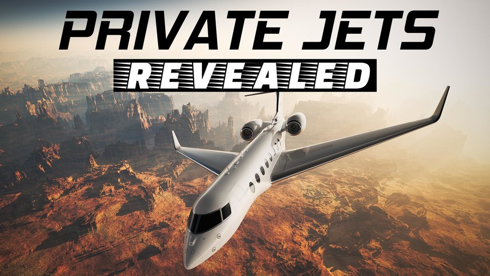 Private Jets Revealed -