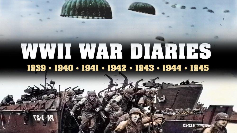WWII War Diaries -