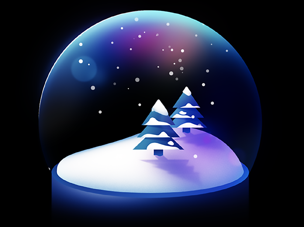 Snow Globe by  alphabetica