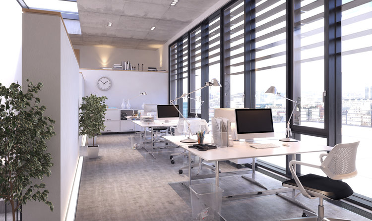 natural office lighting. Contemporary Office Natural Lighting In Office In H