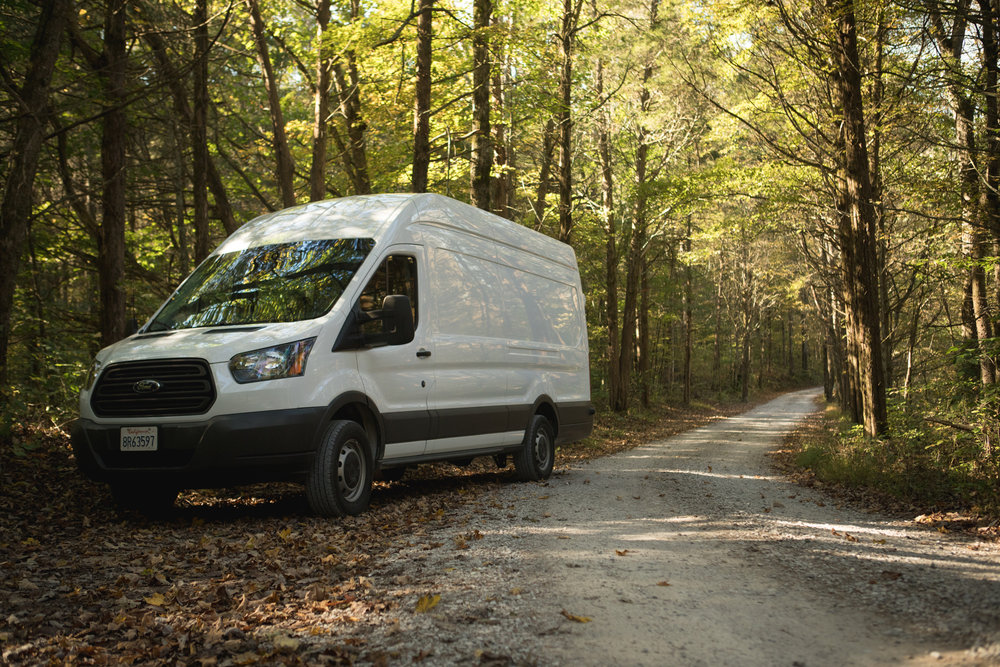 Ford Transit 350 Van. The Lost Latitudes Blog. Photo by Preston Burroughs