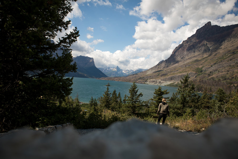 Motorcycle Rides. Glacier National Park. Leticia Cline shot by Preston Burroughs for The Lost Latitudes Blog