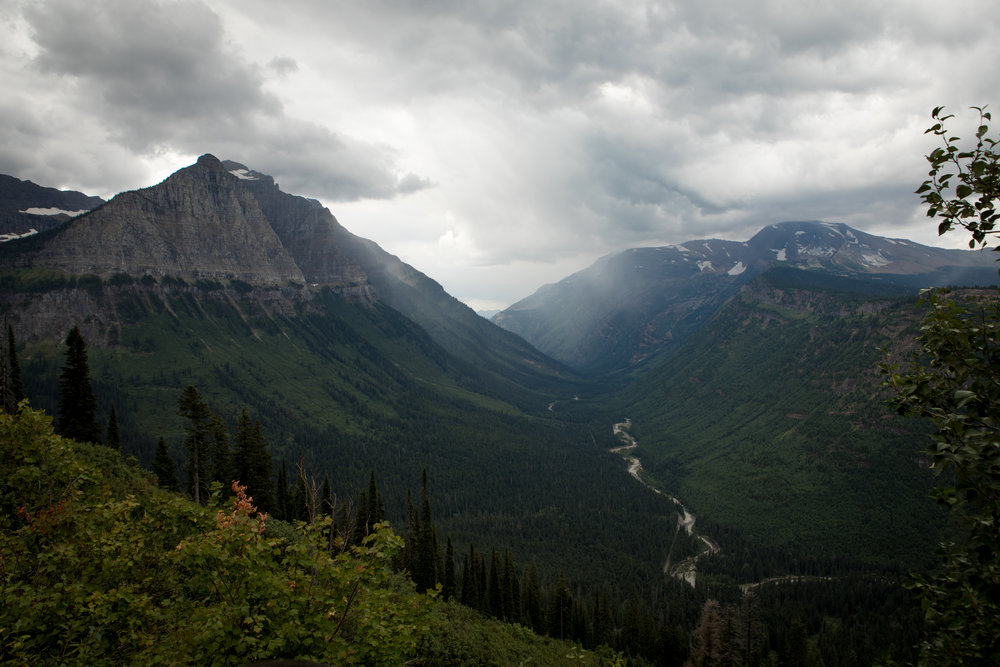 Motorcycle Rides. Glacier National Park. Shot by Preston Burroughs for The Lost Latitudes Blog
