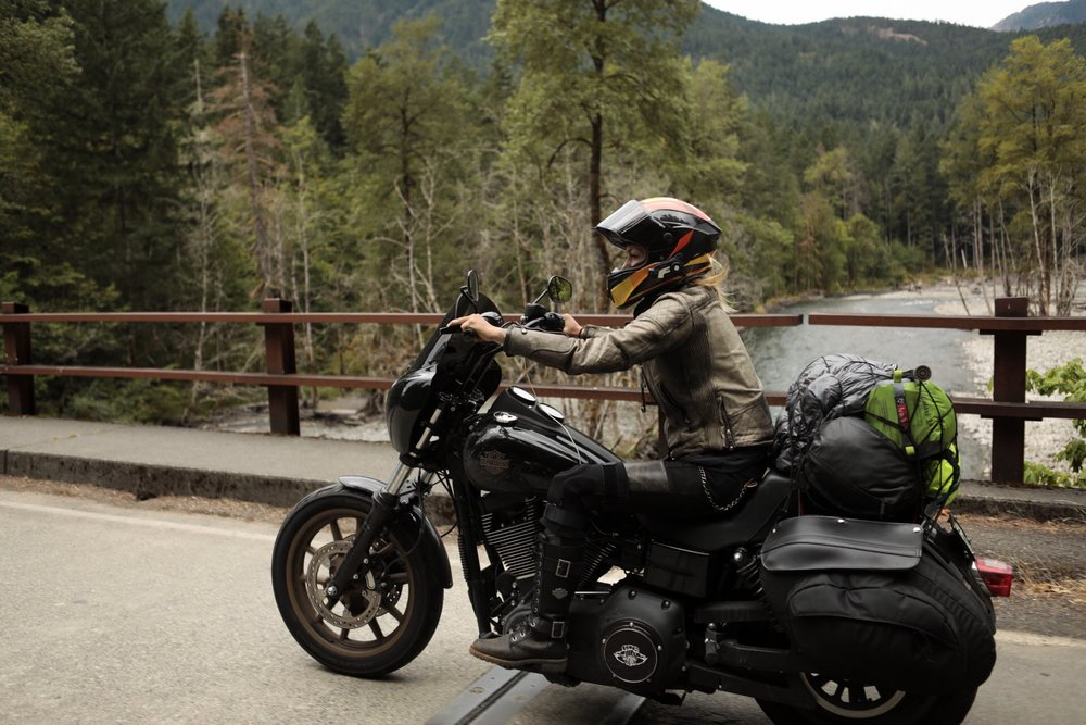 Olympic National Park Motorcycle Rides. The Lost Latitudes Blog. Photos by Preston Burroughs. Story by Leticia Cline