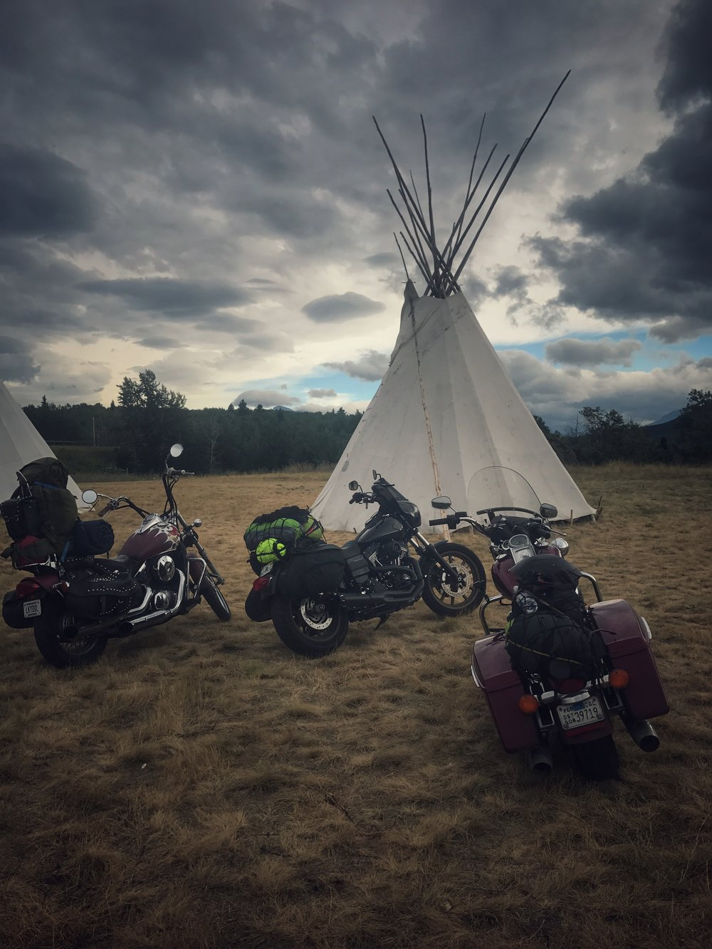 Chewing Black Bones Reservation Glacier National Park Motorcycle Rides. The Lost Latitudes Blog