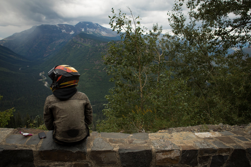 Glacier National Park Motorcycle Rides The Lost Latitudes Blog Leticia Cline Shot by Preston Burroughs
