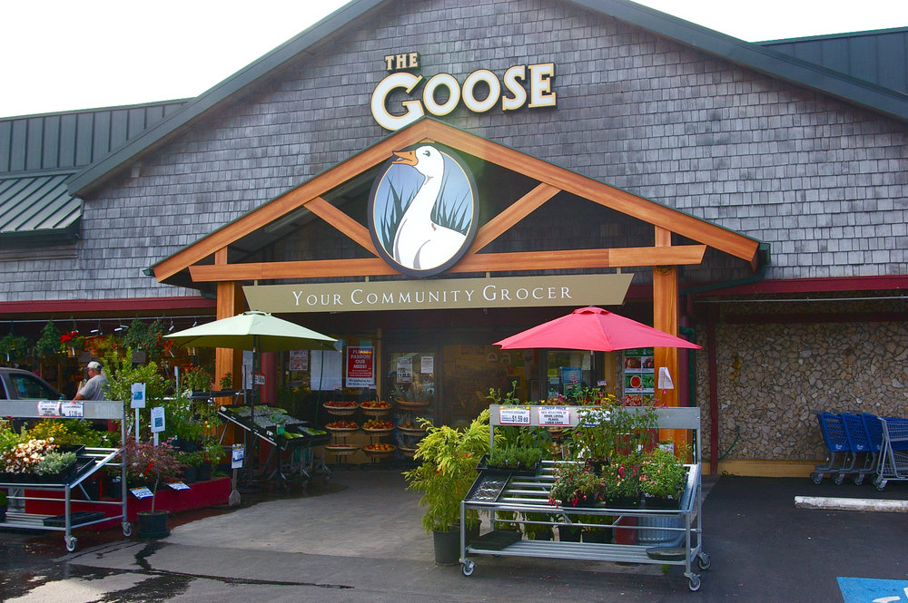 The Goose  is located at 14485 Hwy 525, between Langley and Freeland.