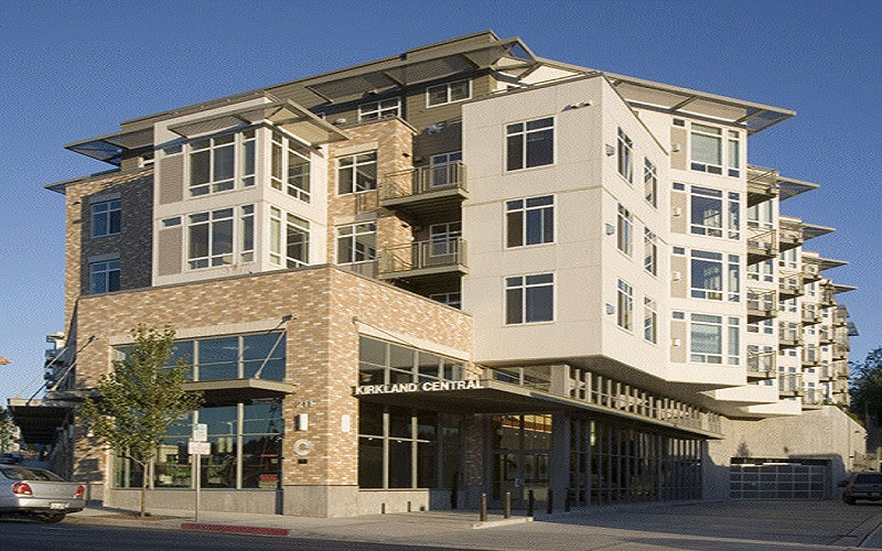 Kirkland Central Condominiums  110 Units — Kirkland  Completed 2005