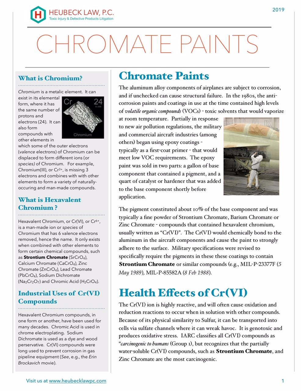 Chromate Paints