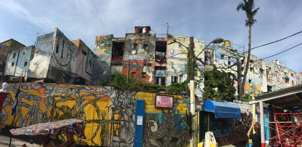 El Callejón de Hamel by Cuban muralist Salvador González