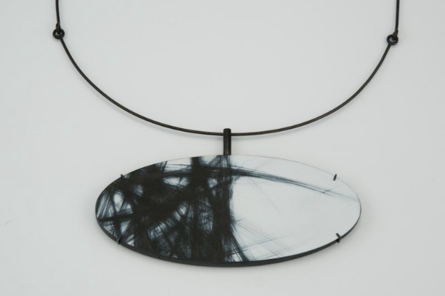 above pendant: Border, wood, paint, steel