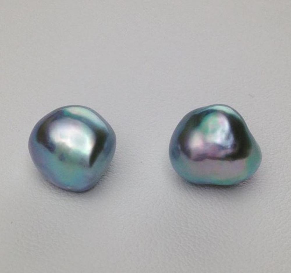 Akoya Blue Pearls