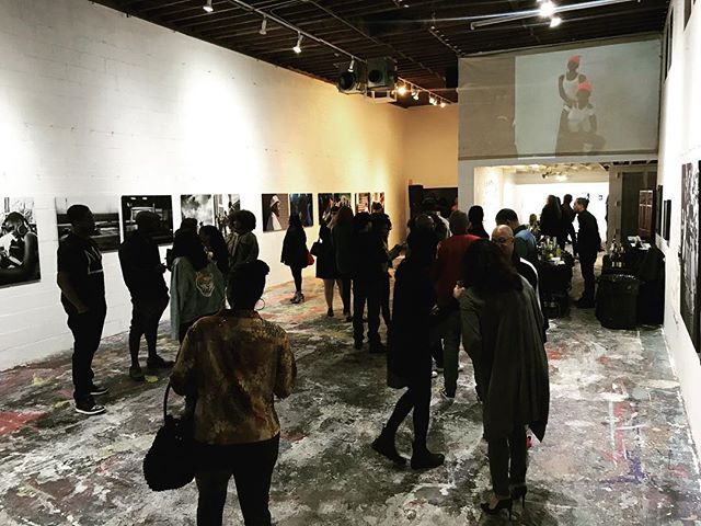 Ali LeRoi - Self Portrait Closing Reception #laphotographer