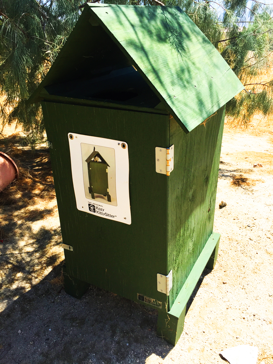 Green cat house