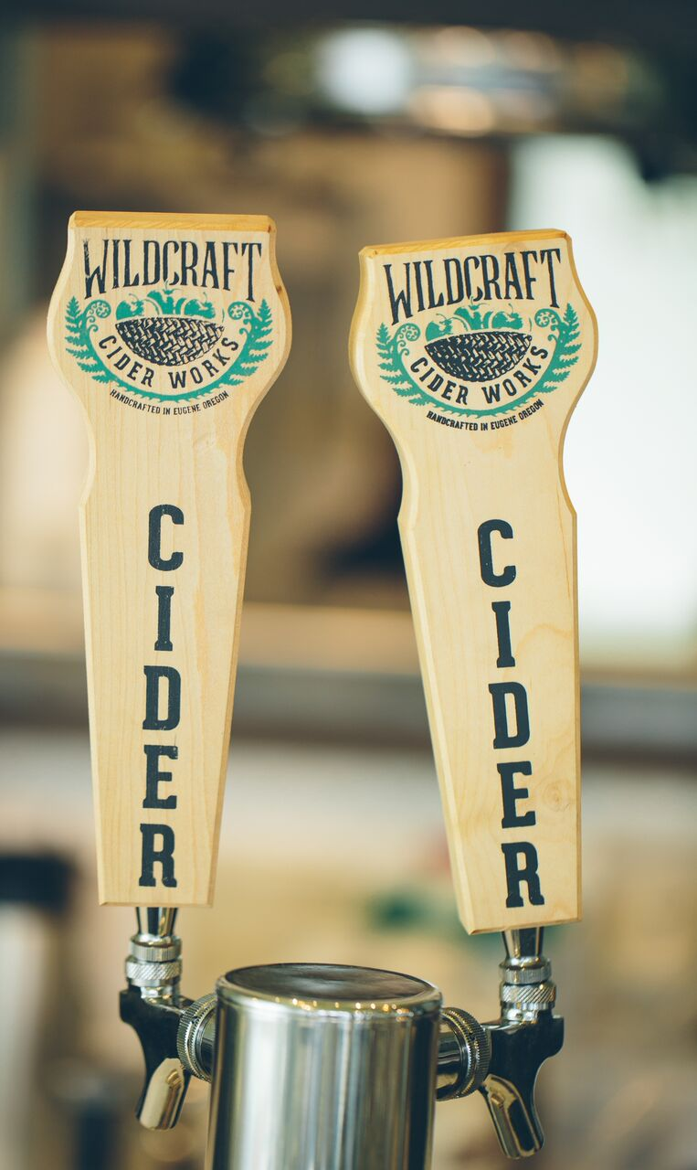 We're proud to be carrying Wild Craft cider - a community based, botanical cider company located in Eugene, OR.