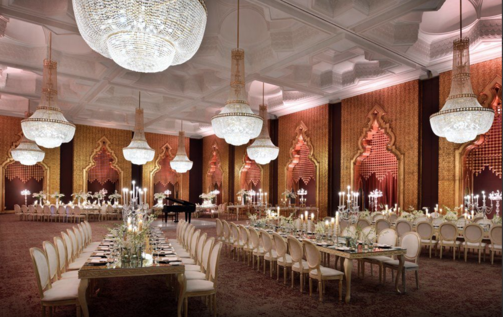 Grand Ballroom in the Mena House Hotel