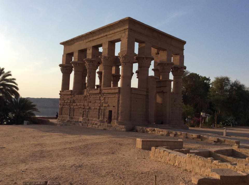 Isis Temple Grounds