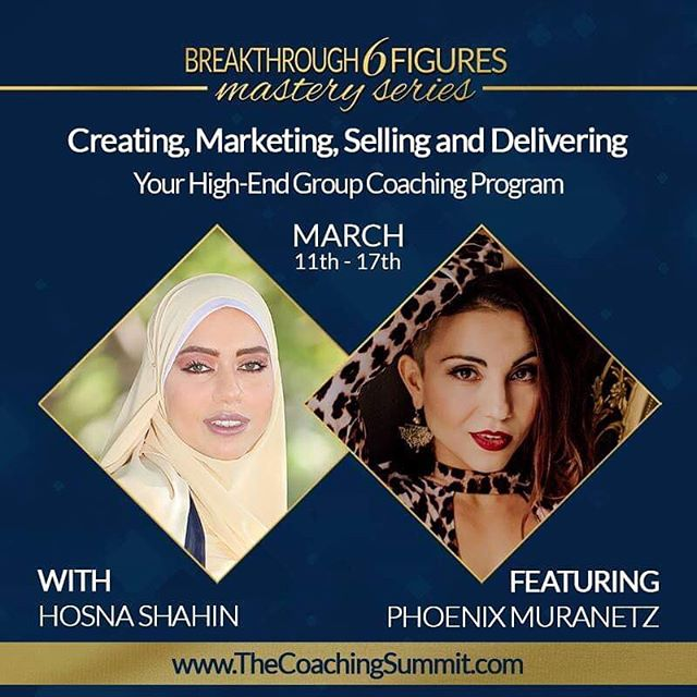 Honoured to be a featured guest expert in my sister Hosna's latest free summit for coaches.  I got pretty radically honest about the bulls$t you see in the coaching industry, staying in integrity with your message, and embodying your work as the ways to experience success.  As someone who has lots of experience with designing luxury brands for healers, if you aren't aligned with the work energetically - the most elegant luxurious brand won't do a thing for you.  You can register for the summit series until March 11th using the link in bio.