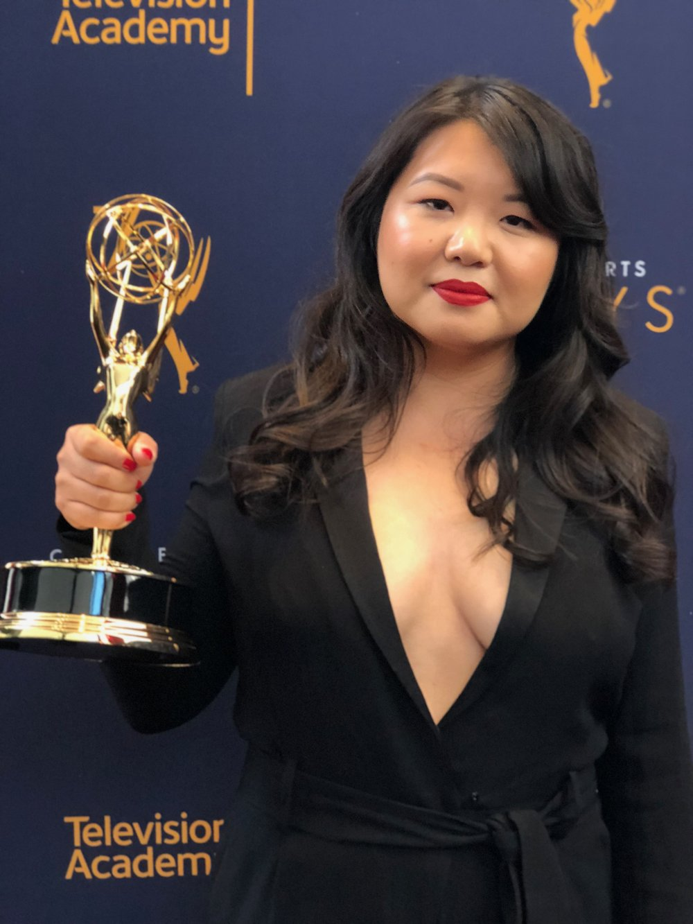 "Jessica Gao - Jessica Gao is a Los Angeles-based screenwriter. She was born in Beijing and raised in the San Gabriel Valley, a suburb of LA. She has written for Rick & Morty, Silicon Valley, Corporate, and Robot Chicken. She co-hosts ""Whiting Wongs,"" a podcast about race and writing with Dan Harmon. She recently won an Emmy Award for her work on"