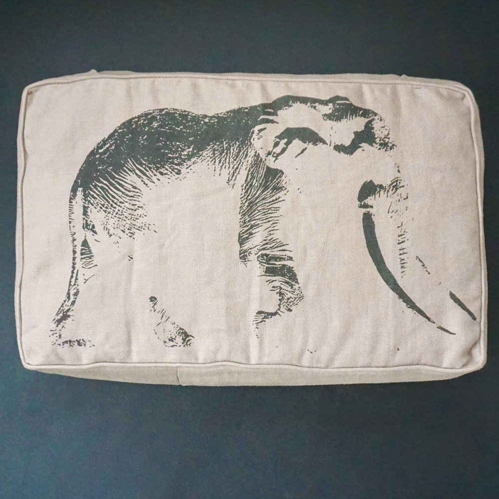 ELEPHANTS AND GREEN UPHOLSTERY - Your couch really can effect the survival of elephants in a different country.