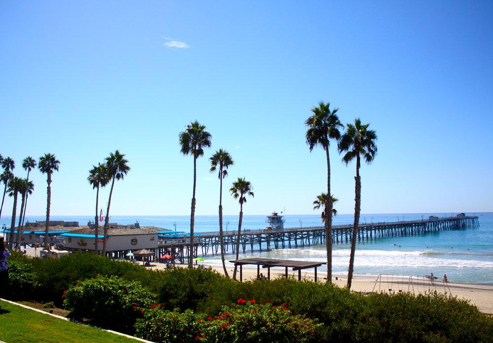 San Clemente Pier - Built in 1928.
