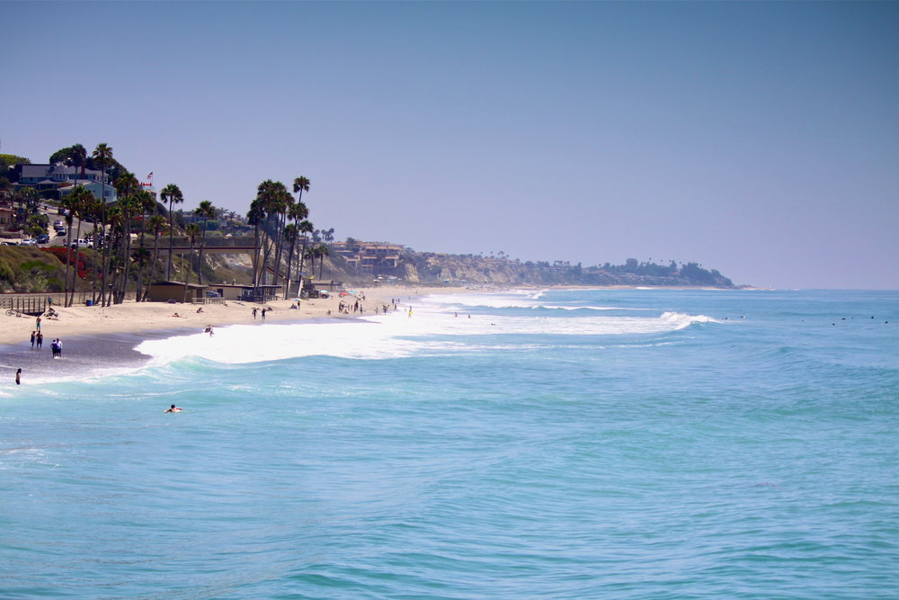 T-Street Beach - San Clemente is home to a number of world class beaches and surf breaks, including Lower Trestles and San Onofre.
