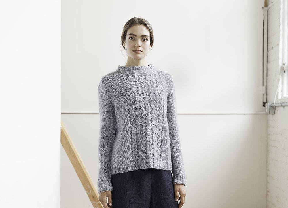 Berg by Julie Hoover (Sweater Club 2017—01)