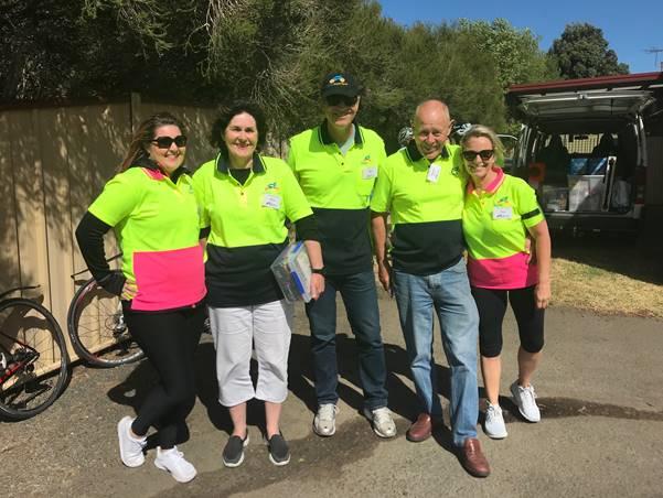 Mercer SuperCycle Volunteers & Support Crew.