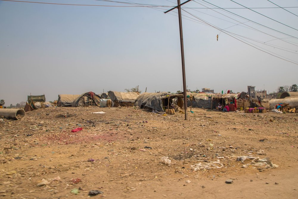 Shanty Towns in India (March 2018)