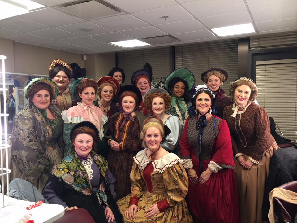 Female chorus for  La bohème  - Knoxville Opera