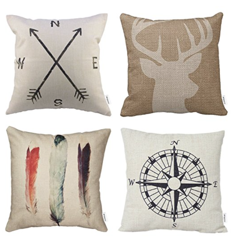 4 pillow covers