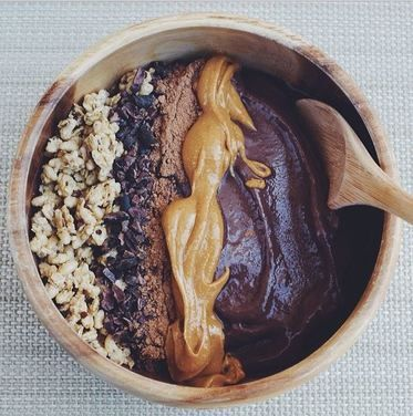 chocolate acai bowl recipe
