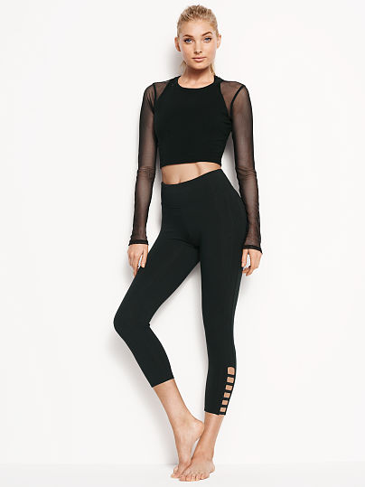 Leggings with a detail